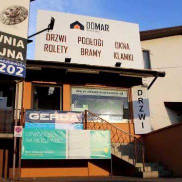Domar Radzymińska 202 – spacer wirtualny po salonie drzwi