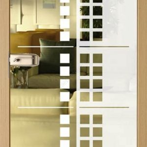 Drzwi Invado szklane