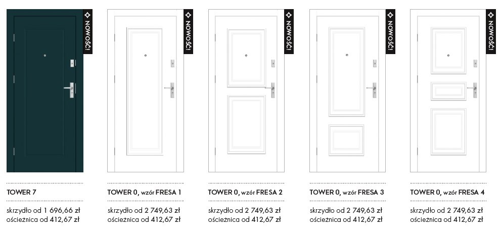 drzwi wejściowe TOWER STRONG